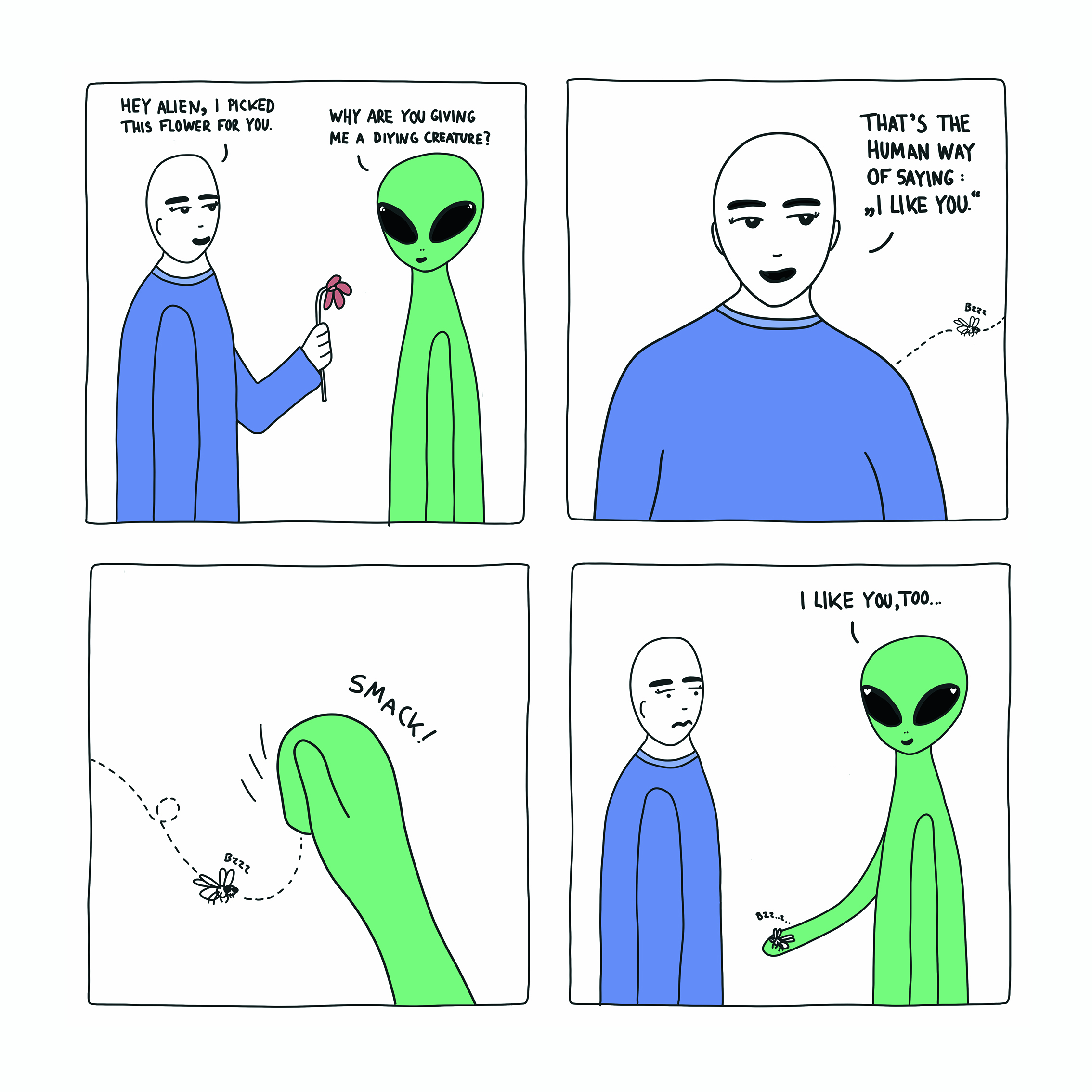 Alien goes Earth